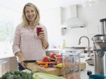 Εστιάζοντας στη σωστή διατροφή κατά την εμμηνόπαυση