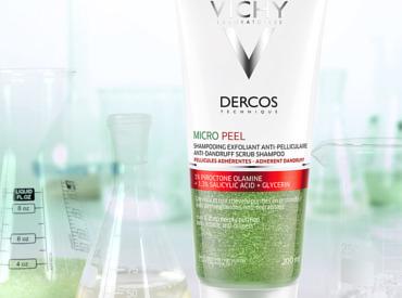 Πού οφείλεται η πιτυρίδα; Καταπολεμήστε την με το Dercos Micro-Peel