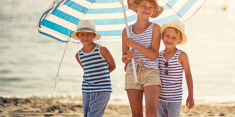 Παιδί & Προστασία από τον ήλιο