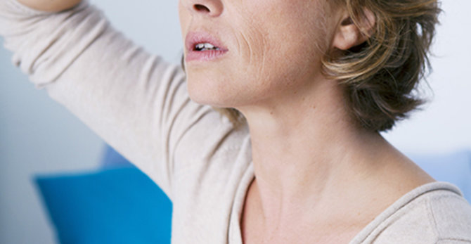 Εφίδρωση και Εξάψεις στην Εμμηνόπαυση